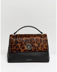 Ted Baker Luccie Cross Body Bag In Leopard