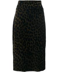 Leopard pencil skirt medium 4414375