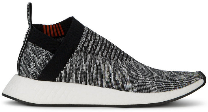 ... adidas Originals Black Leopard Nmd Cs2 Primeknit Trainers