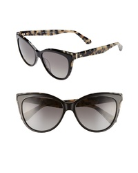 kate spade new york Dshas 56mm Cat Eye Sunglasses