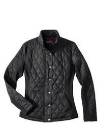 Merona Quilted Puffer Jacket Black Xs