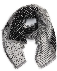 Madewell Optic Patchwork Scarf