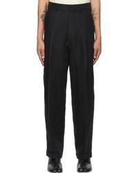 Maison Margiela Black Linen Trousers