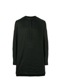 Haider Ackermann Asymmetric Oversized Shirt