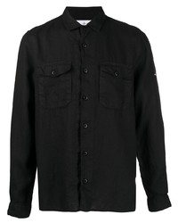 Stone Island Chest Pocket Linen Shirt