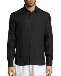Vilebrequin Lagoon Linen Shirt