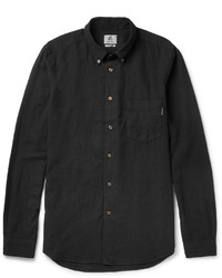 Paul Smith Ps By Button Down Collar Cotton Blend Shirt