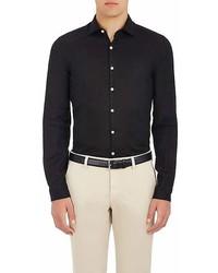 Piattelli Slub Linen Shirt