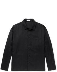 Fanmail Woven Linen Overshirt