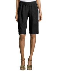 Eileen Fisher Long Organic Linen Shorts