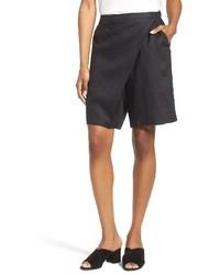Eileen Fisher Organic Linen Sarong Shorts
