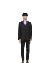 Black Linen Suit