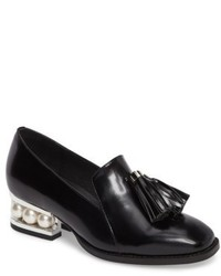 Jeffrey Campbell Lawford Pearly Heeled Loafer