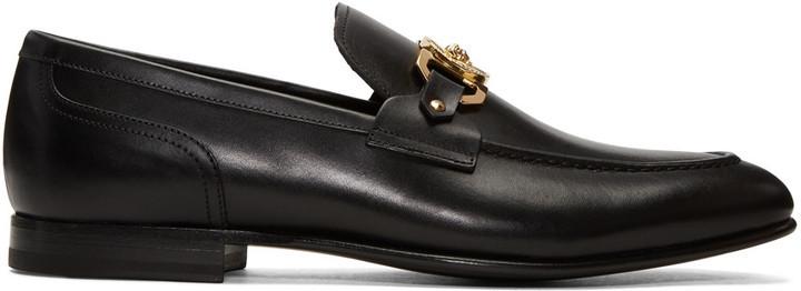 Black Medusa Loafers Versace rnoWYHh
