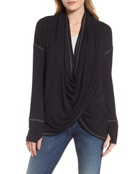 Caslon Off Duty Long Convertible Cardigan