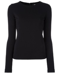 Dsquared2 Fitted Long Sleeved Blouse