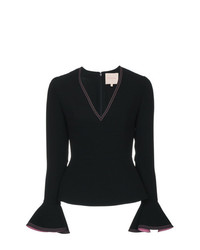 Roksanda Flared Sleeve Top