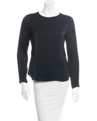 Rag & Bone Long Sleeve High Low Blouse