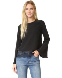 One by cami nyc the bell long sleeve blouse medium 841399