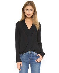 Rita drape front blouse medium 697842