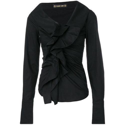 Plein Sud Ruched Blouse