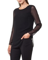 Akris Punto Sheer Layer Top