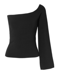 SOLACE London The Renata One Shoulder Stretch Knit Top