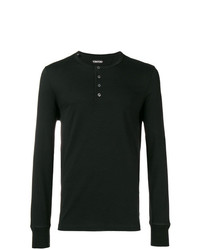 Tom Ford Front Button T Shirt