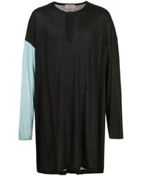 Yohji Yamamoto Oversized Long Sleeved T Shirt