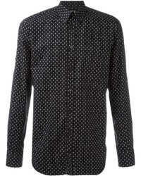 Alexander McQueen Mini Skull Button Down Shirt