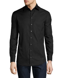 Giorgio Armani Basic Sport Shirt Black