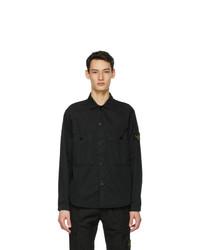 Stone Island Black Buttoned Shirt