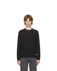 Paul Smith Black Jersey Long Sleeve T Shirt