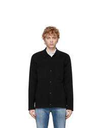 Z Zegna Black Knit Shirt