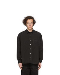 Jacquemus Black La Chemise Simon Shirt