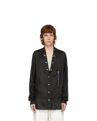 Rick Owens Black Larry Shirt