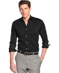 Alfani Black Marion Texture Shirt