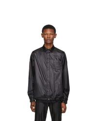 Sacai Black Nylon Shirt