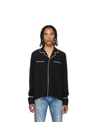 Rhude Black Pj Shirt