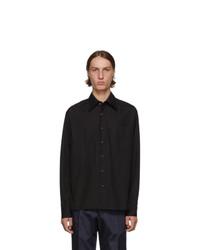 Prada Black Pocket Shirt