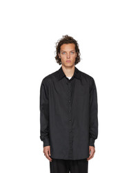 Valentino Black Semi Oversized Shirt