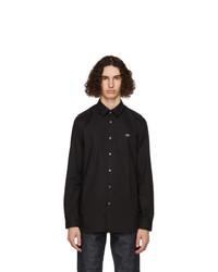 Lacoste Black Stretch Slim Fit Shirt