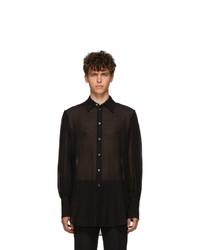 Ann Demeulemeester Black Tiriel Shirt
