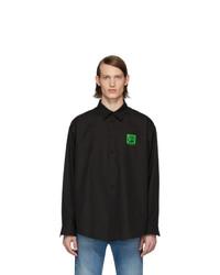 Balenciaga Black Vintage Logo Shirt