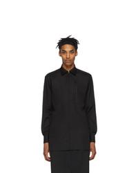 Random Identities Black Zip Up Shirt