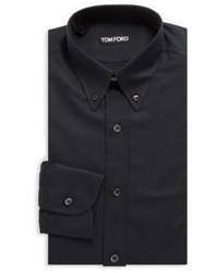 Tom Ford Button Down Silk Dress Shirt