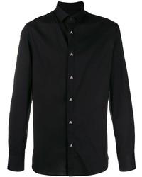 Philipp Plein Classic Skull Button Shirt