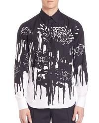 Alexander McQueen Dripping Flower Sportshirt