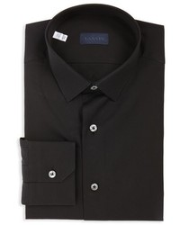 Lanvin Extra Trim Cotton Poplin Sport Shirt