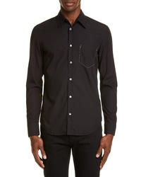 Maison Margiela Faux Pocket Button Up Shirt